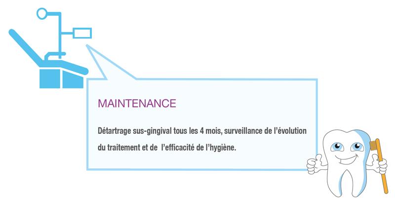 Maintenance parodontales - Polyclinique dentaire Européenne - Tours - Région Centre - Spécialités dentaires