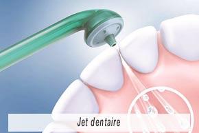 Fiche pédagogiques - Entretenir correctement ses implants dentaires - Jet dentaire - - Polyclinique dentaire Européenne - Tours - Région Centre - Spécialités dentaires